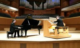 The Scott Brothers Duo introduce children all over Europe to the pipe organ